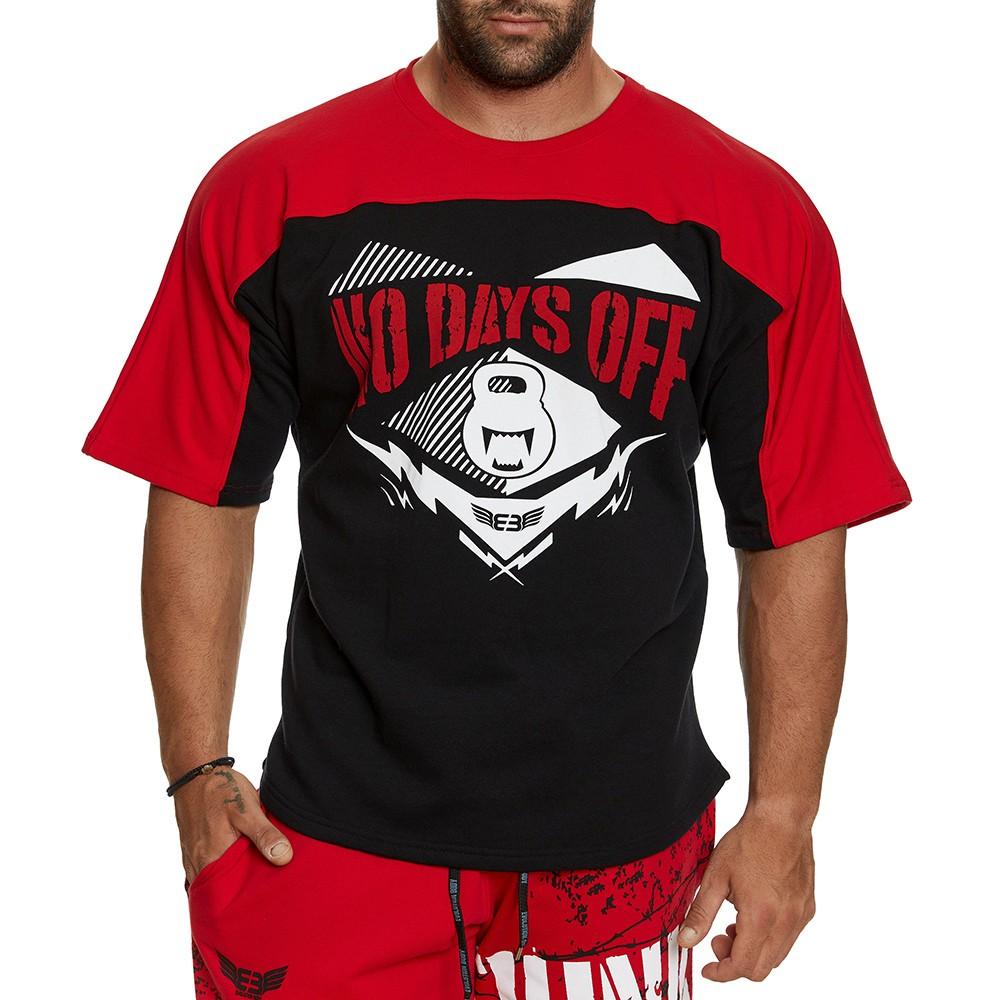 Κοντομάνικη μπλούζα Evolution Body Κόκκινη 2393RED