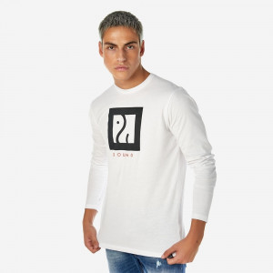20512-216-01-WHITE ΑΝΔΡΙΚΟ T-SHIRT BROKERS