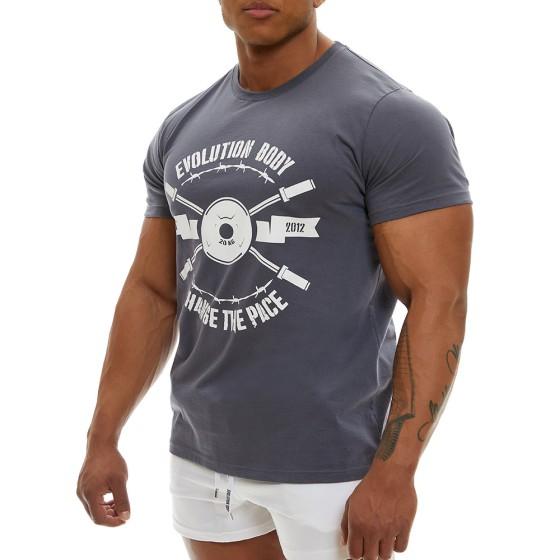 T-shirt Evolution Body Γκρι 2355AGR