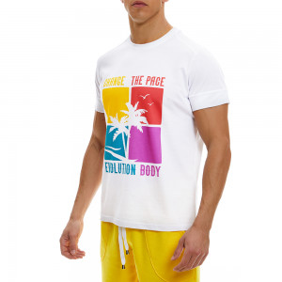 T-shirt Evolution Body Λευκό 2339Β