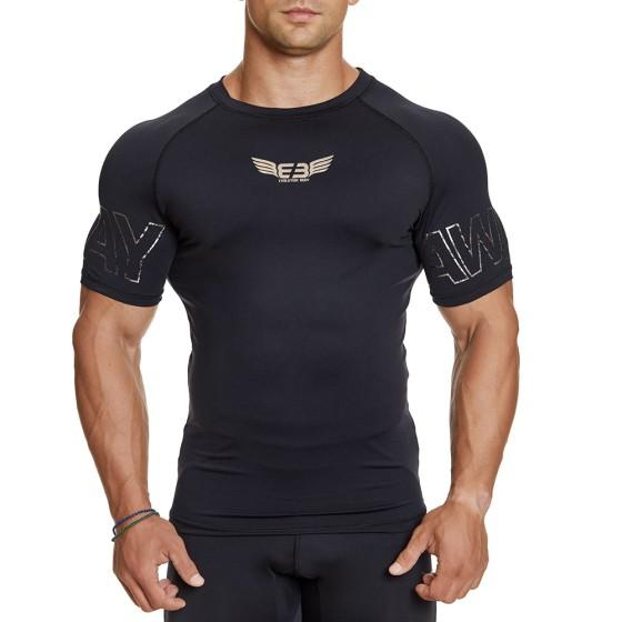 EVO-FIT T-shirt Evolution Body Μαύρο 2383