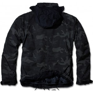 DARKCAMO HOODED JACKET