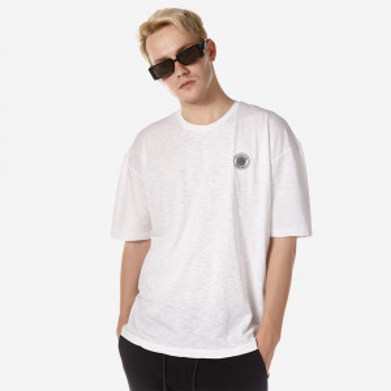 21012-552-04-WHITE ΑΝΔΡΙΚΟ T-SHIRT BROKERS