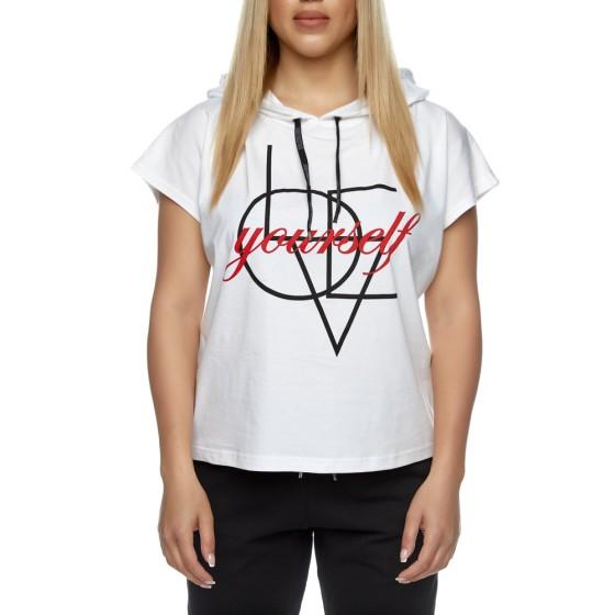 T-shirt Evolution Body Λευκό 2415WHITE