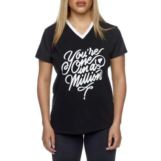 T-shirt Evolution Body Μαύρο 2426BLACK