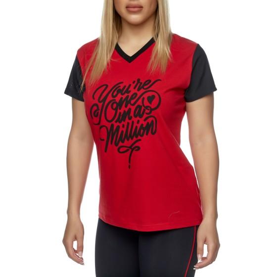 T-shirt Evolution Body Κόκκινο 2426RED