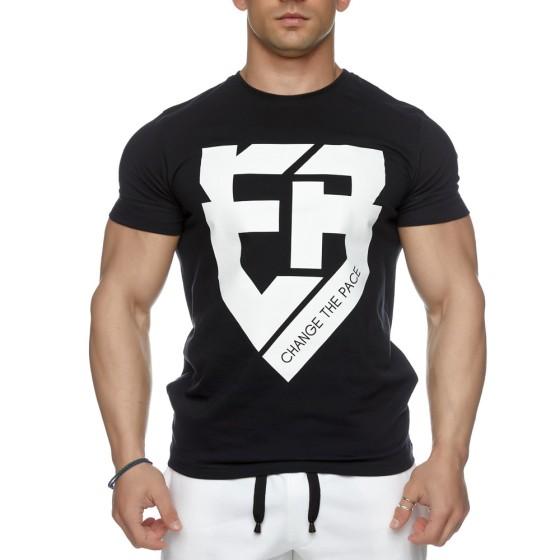 T-shirt Evolution Body Μαύρο 2428BLACK