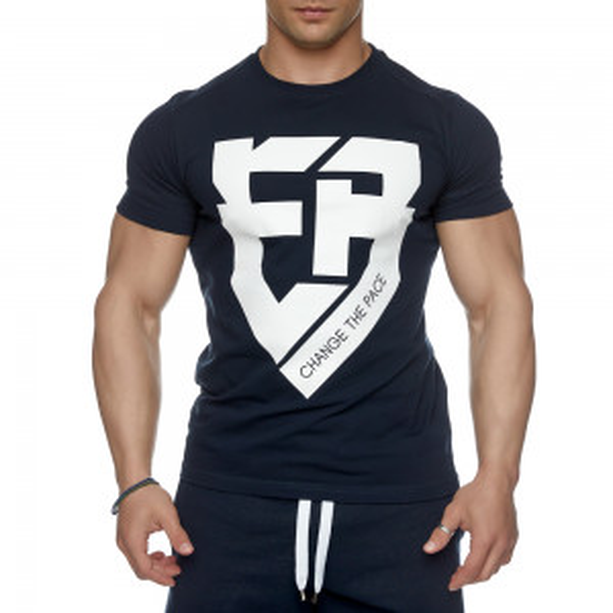 T-shirt Evolution Body Μπλε 2428BLUE