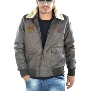 Jacket eco leather