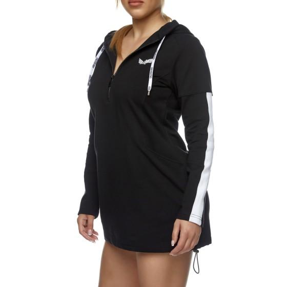 Αθλητικό Μίνι Φόρεμα Evolution Body Μαύρο 2416