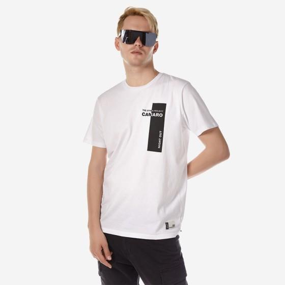 21001-918-01-WHITE ΑΝΔΡΙΚΟ T-SHIRT CAMARO