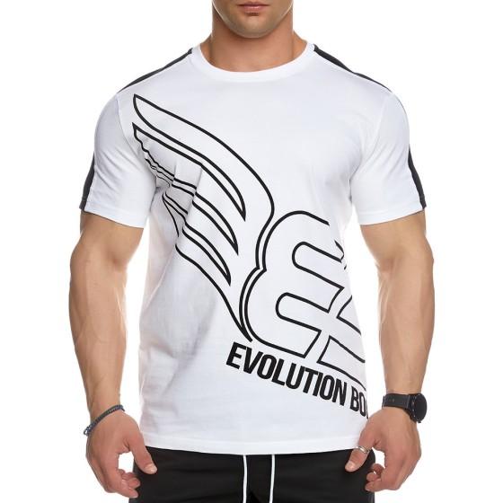 T-shirt Evolution Body Λευκό 2446WHITE