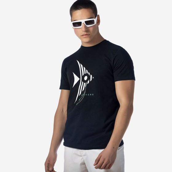 21012-224-04-BLACK ΑΝΔΡΙΚΟ T-SHIRT BROKERS