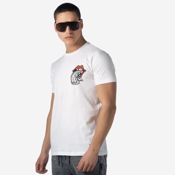 21001-926-01-WHITE ΑΝΔΡΙΚΟ T-SHIRT CAMARO