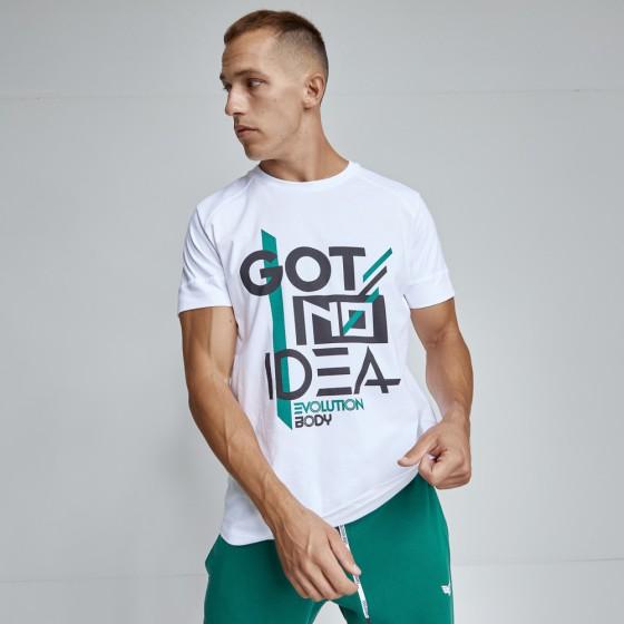 T-shirt Evolution Body Λευκό 2484WHITE