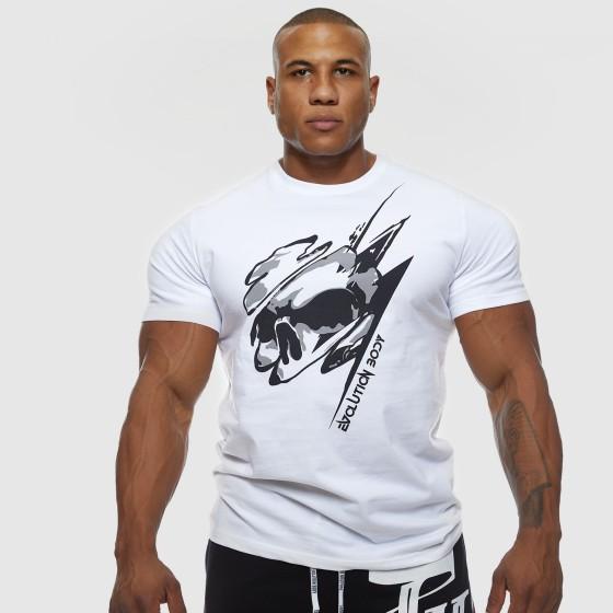 T-shirt Evolution Body Λευκό 2462WHITE-BLACK
