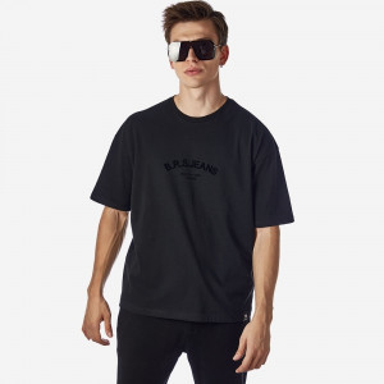 21512-104-01-BLACK ΑΝΔΡΙΚΟ T-SHIRT BROKERS
