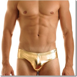 Metallic ultra brief