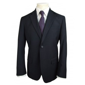 Men's Plain Blue Suit
