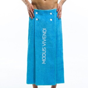 Βeach Towel & Mens Pareo - Aqua