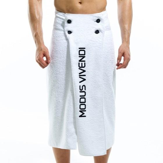 Πετσέτα θαλασσης - Παρεό Λευκό