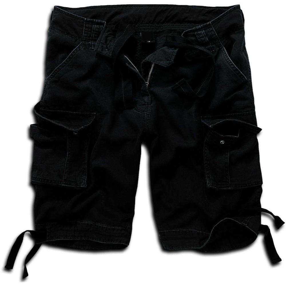 Βερμούδα Vintage Μαύρη