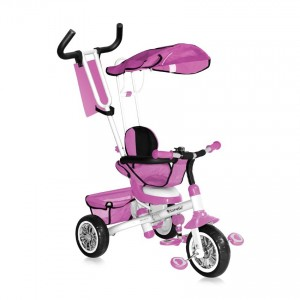 Tricycle B301B Pink & White