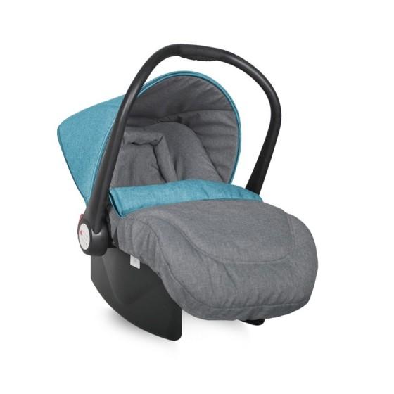 Lifesaver Baby Car Seat 0-13 kg - Grey & Blue