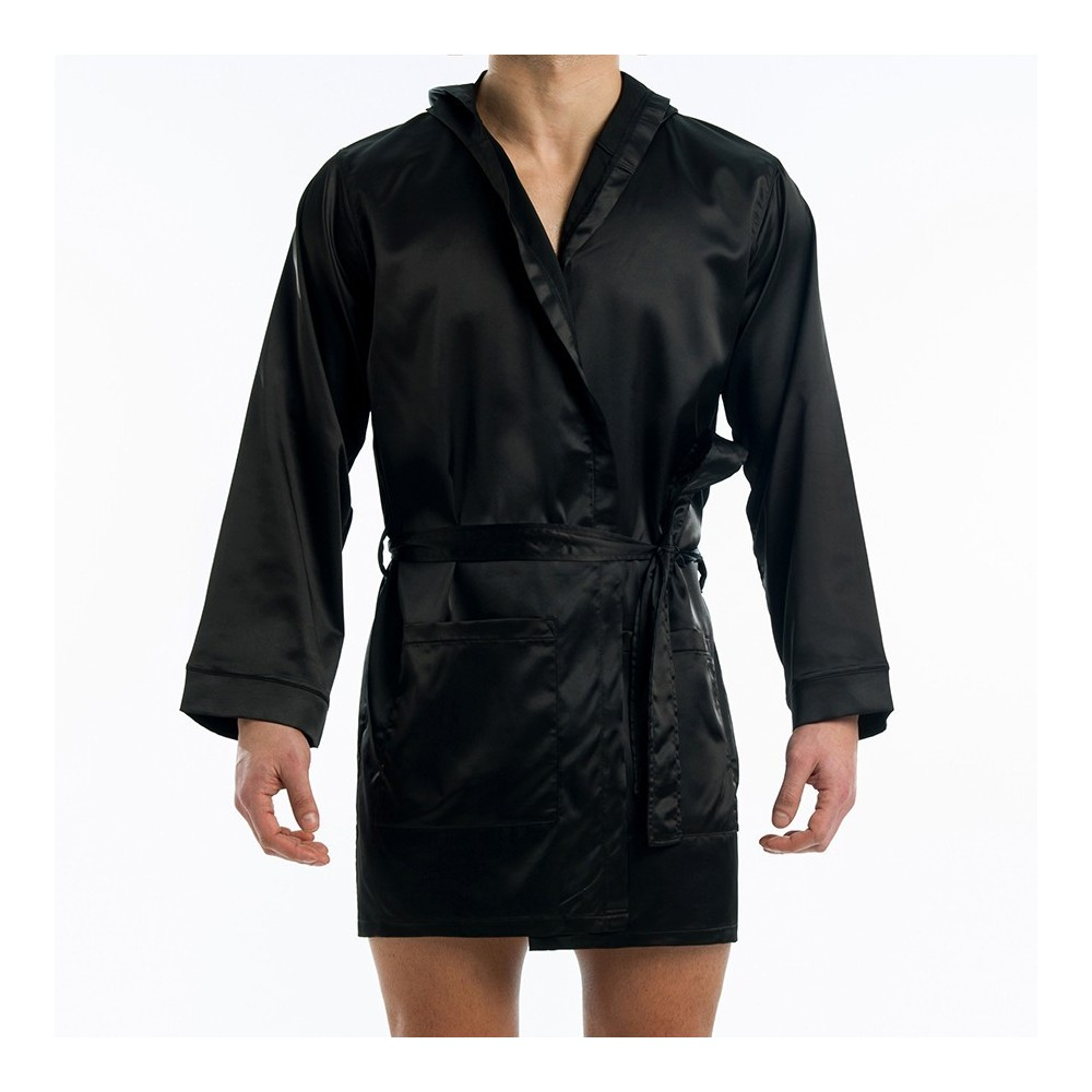 SATIN SHORT ROBE
