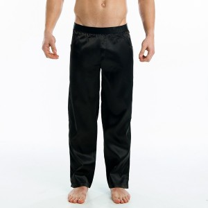 SATIN LOUNGE PANTS