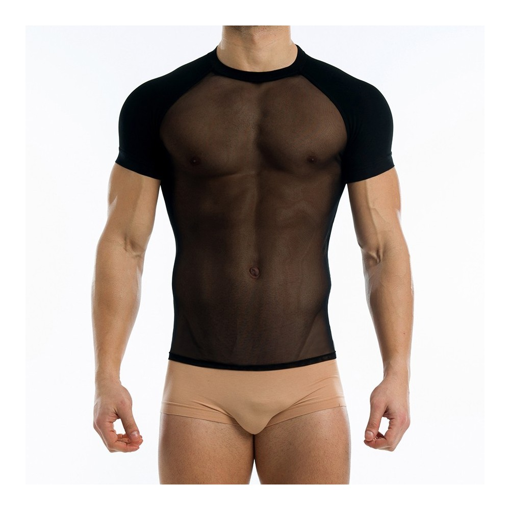 TRANSPARENT T-SHIRT BLACK