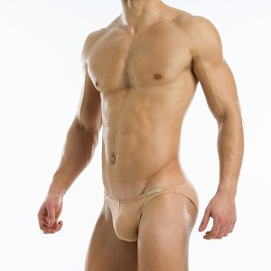 Antibacterial low cut brief - Skin