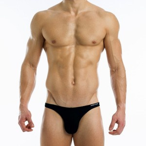 Antibacterial low cut brief - Black