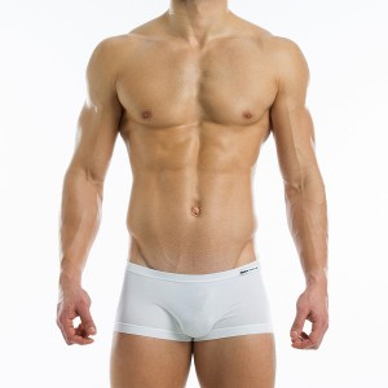 Antibacterial brazil cut boxer - White