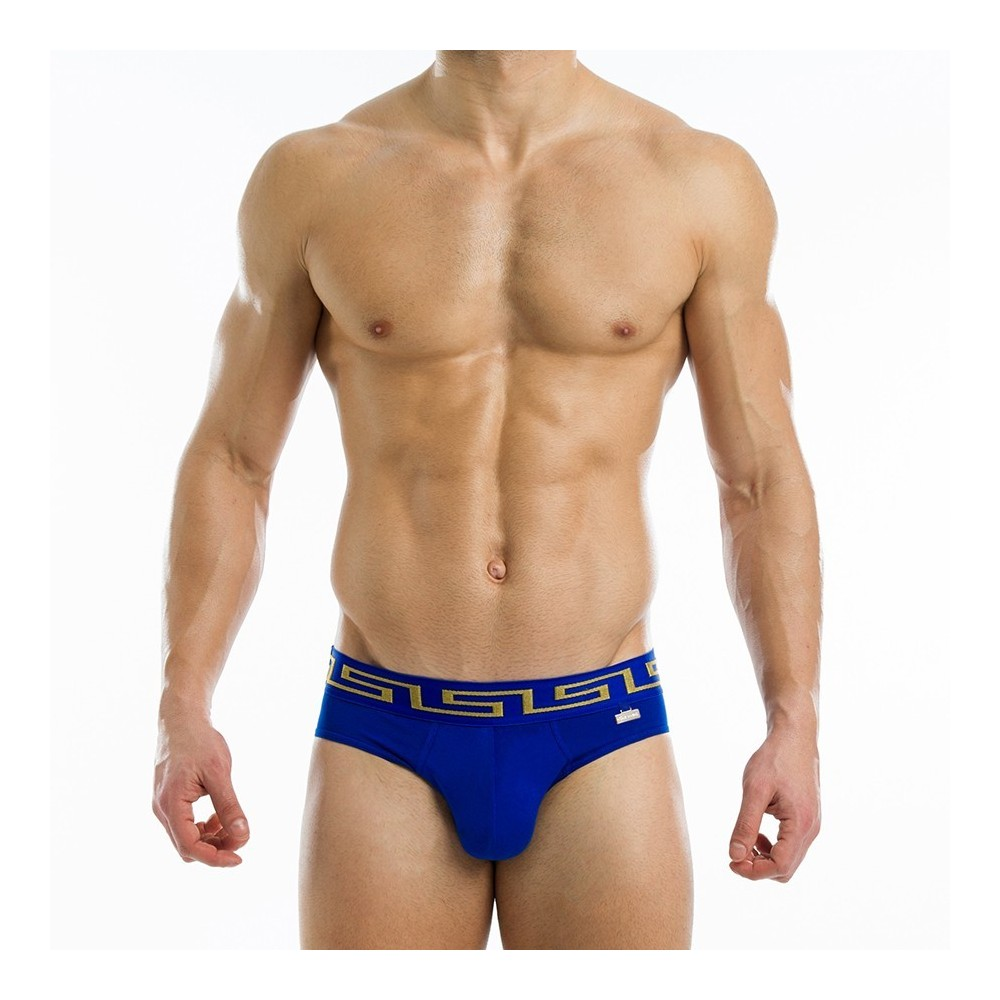 Meander brief - Blue