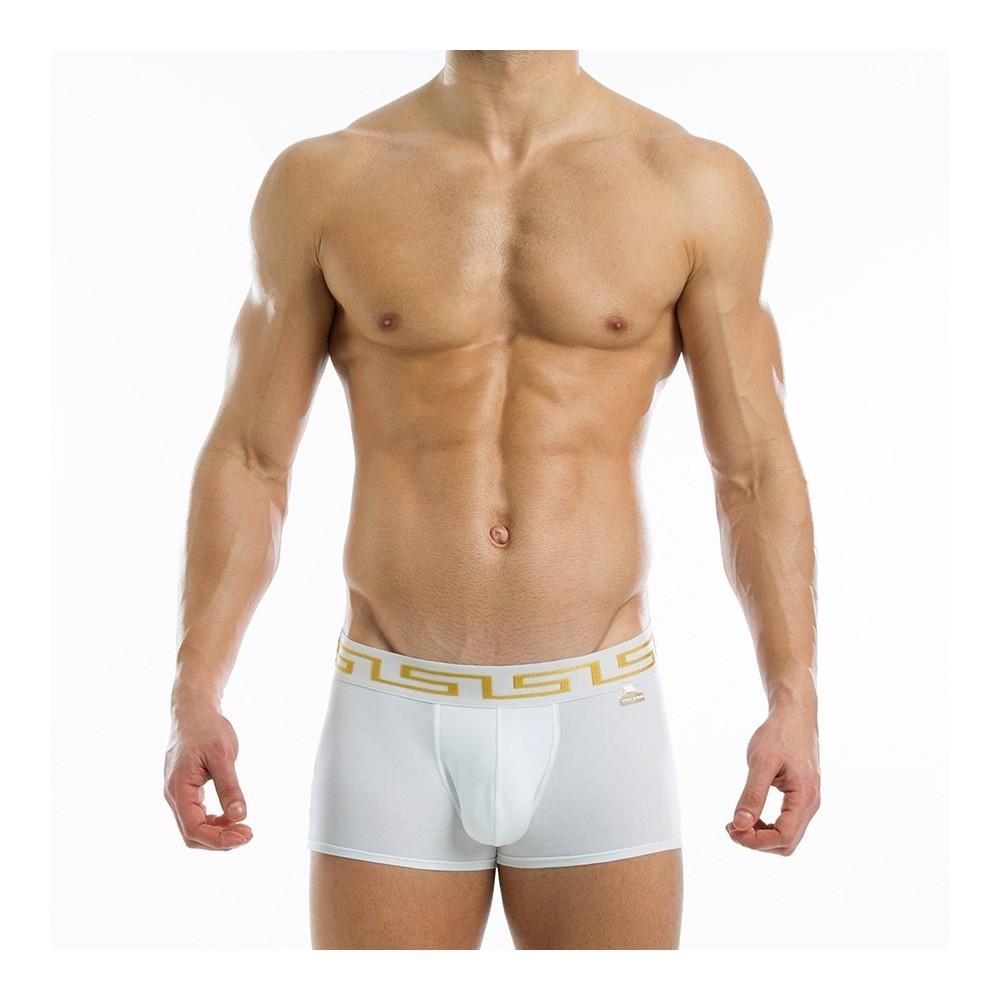 Meander boxer - Λευκό