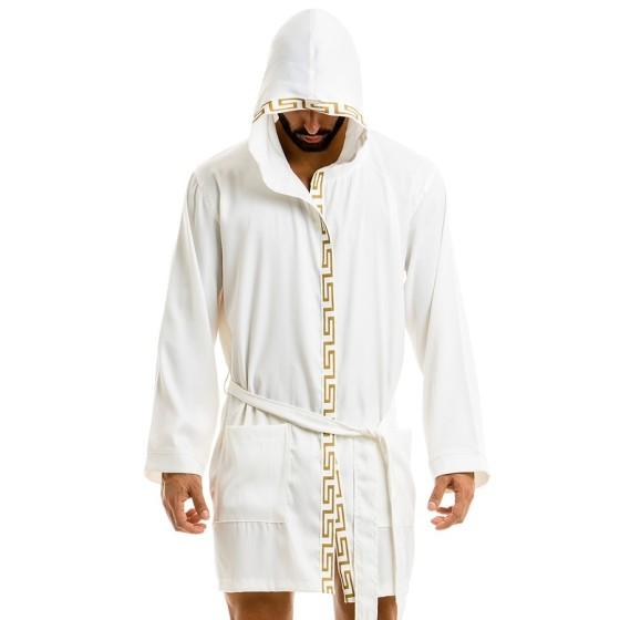 Meander robe - Λευκό