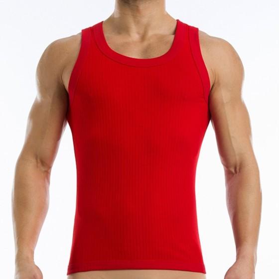 Broaded tanktop - Red