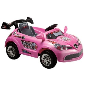 Battery operated Car A088 - Pink