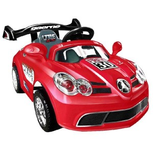 Battery operated Car A088 - Red