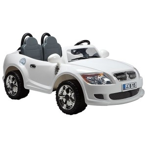 Battery operated Car B15 - White