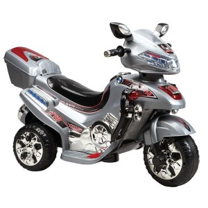 Battery operated Motorcycle - Grey