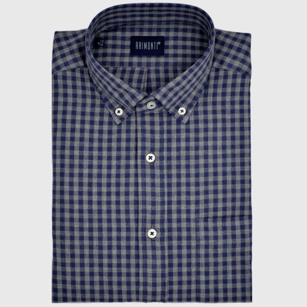 Φανελένιο καρό πουκάμισο