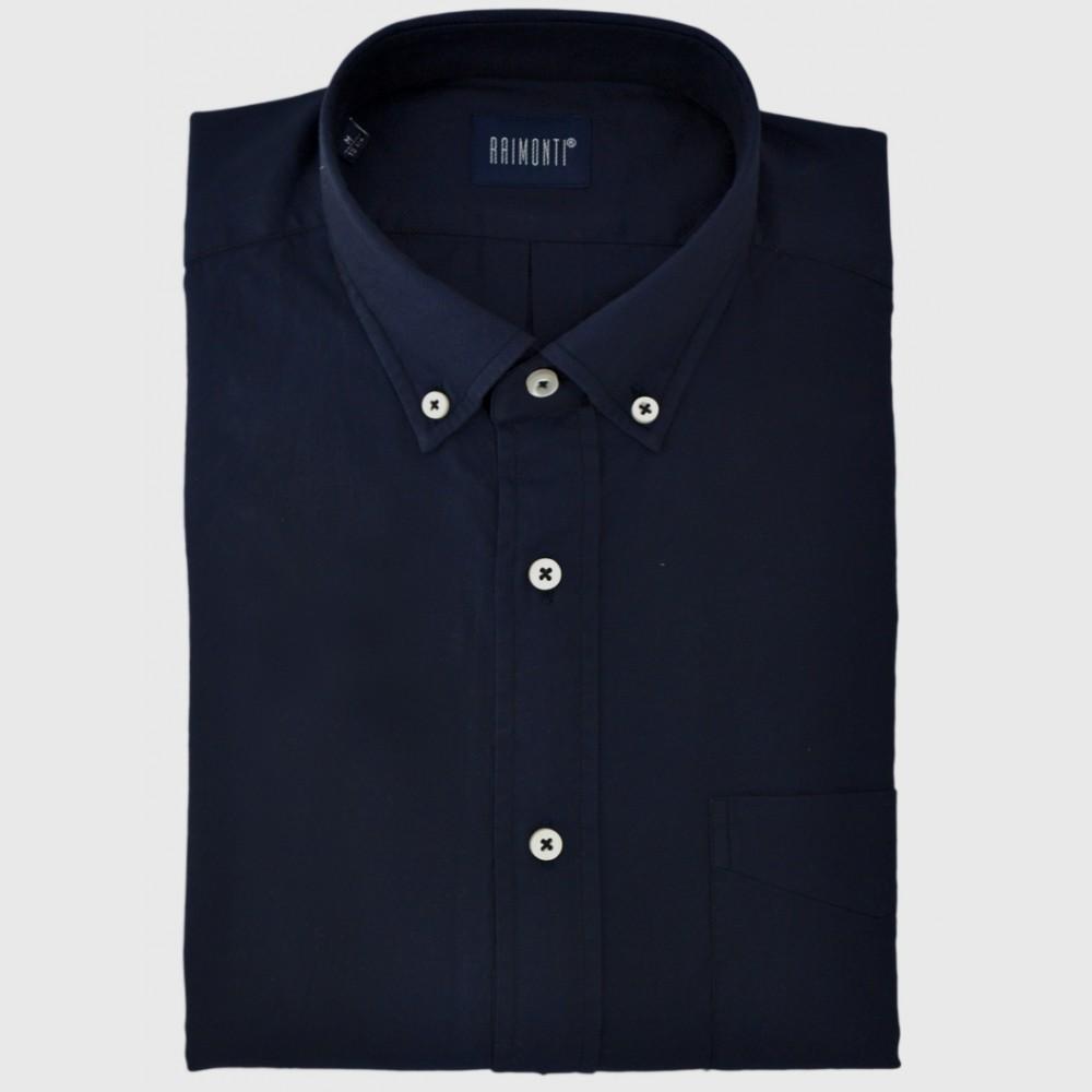 Μπλε oxford πουκάμισο