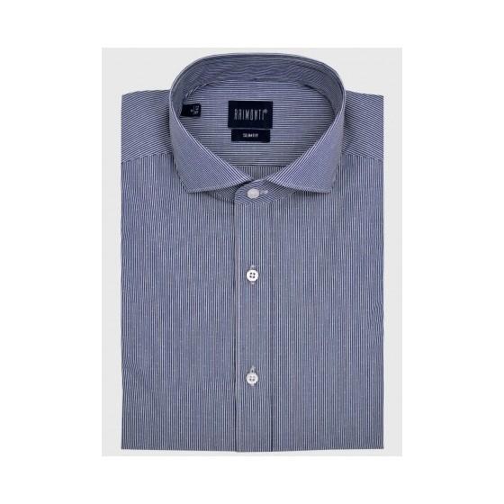 Ριγέ πουκάμισο slim fit