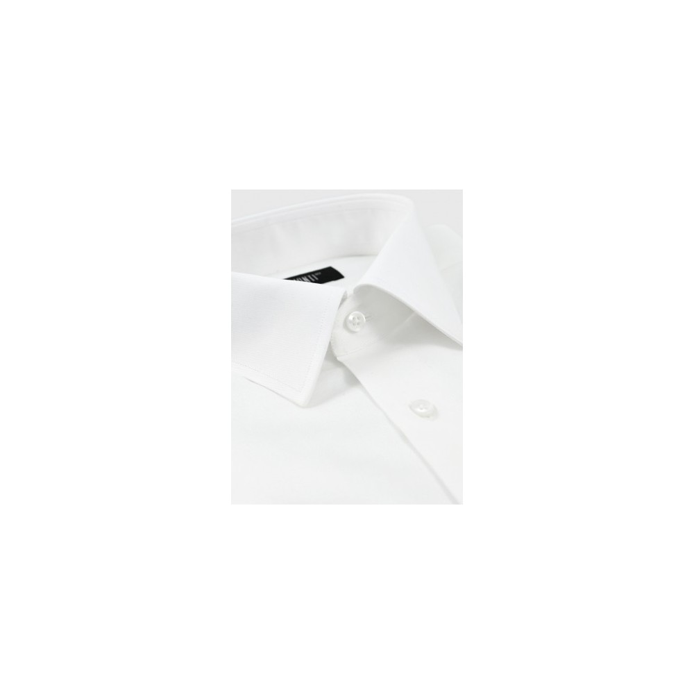e4e0d078b3d5 Λευκό πουκάμισο με διακριτική ρίγα