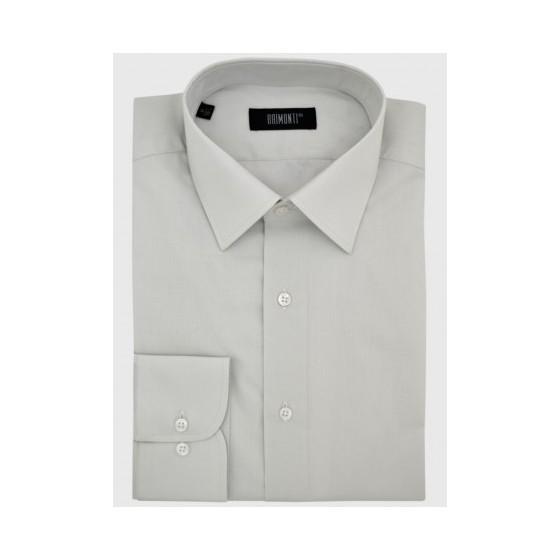 Γκρι κλασικό πουκάμισο