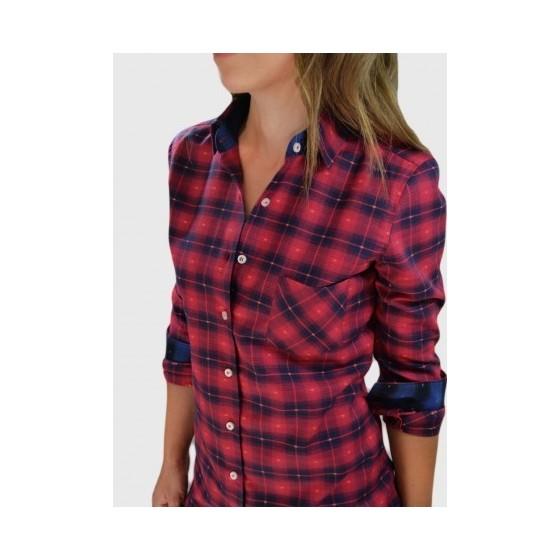 Φανελένιο πουκάμισο Κόκκινο