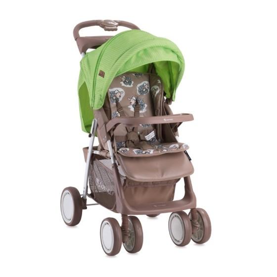 Baby Stroller Foxy  BEIGE&GREEN LAMBS