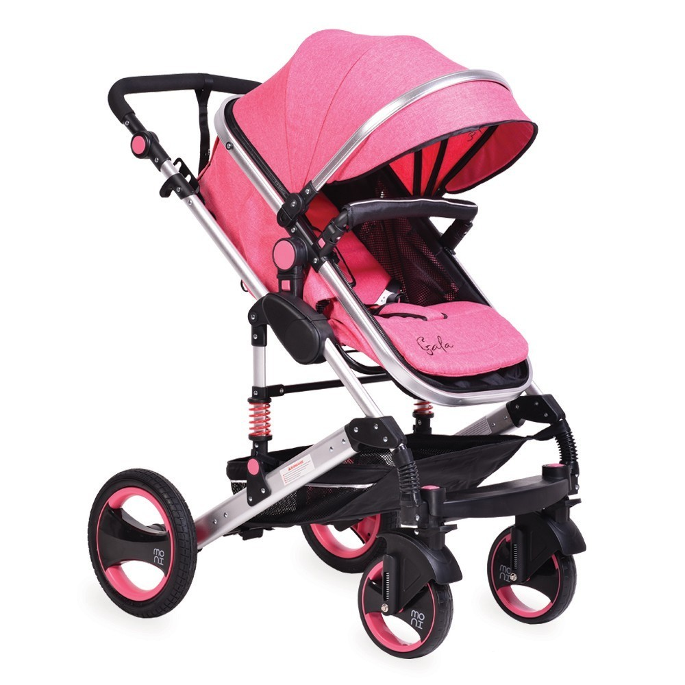 Baby stroller GALA 2in1 PINK